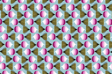 turnips-railroaded version fabric by ottomanbrim on Spoonflower - custom fabric