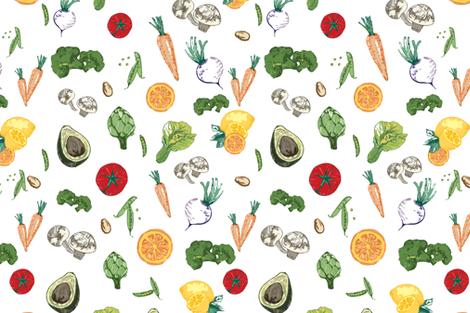 nature_fresh fabric by geetanjali on Spoonflower - custom fabric