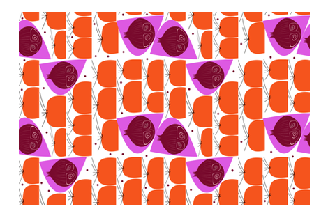 Carrot Tops fabric by abstracthands on Spoonflower - custom fabric