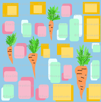 Carrots. I made some soup.