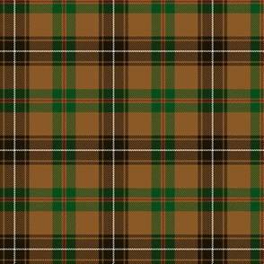 Connacht Irish District tartan #3, 3""