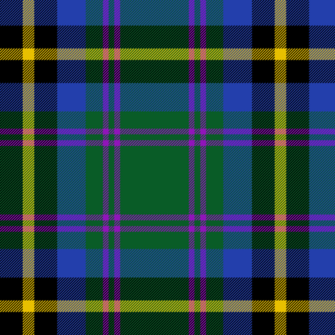 "Carrick hunting tartan, 6"" fabric by weavingmajor on Spoonflower - custom fabric"