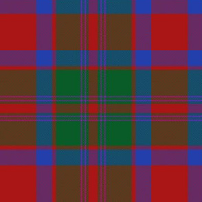 Carrick district tartan, 6""