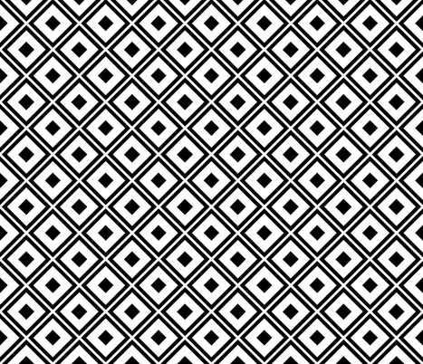 bold_stripe_diamond_white_small fabric by blayney-paul on Spoonflower - custom fabric