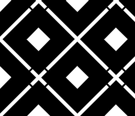 large_diamond_black_white_large fabric by blayney-paul on Spoonflower - custom fabric