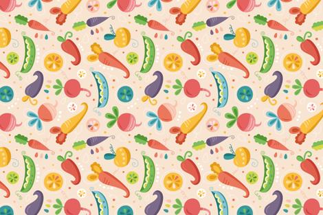 sweet-market fabric by la_fabriken on Spoonflower - custom fabric
