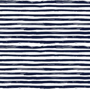Inky Lines - Indigo