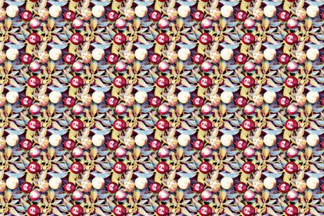 Berry Fresh fabric by groundfeather_studio on Spoonflower - custom fabric
