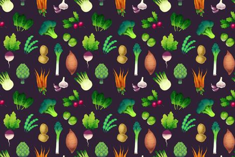 Farmers Market fabric by skrich on Spoonflower - custom fabric