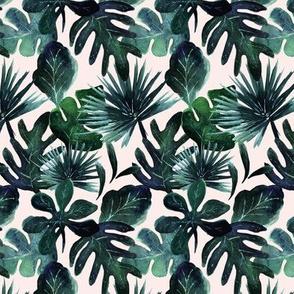 tropical_Leaves S - Blush