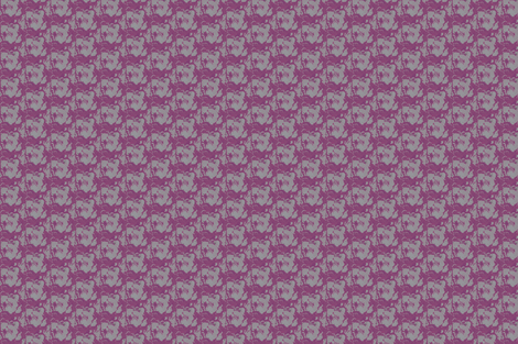 purple cabbage print fabric by fiberdesign on Spoonflower - custom fabric
