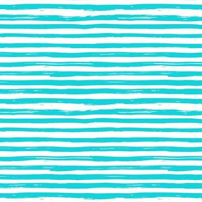 Inky Lines - Aqua