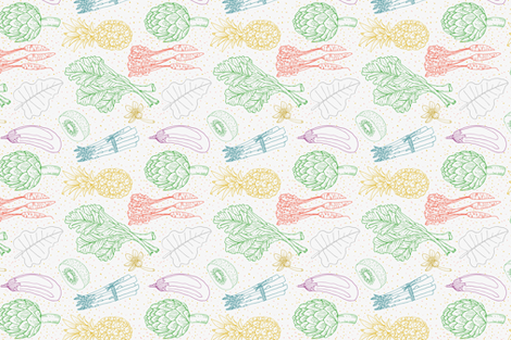 Farmer's Market fabric by catalinavillegas on Spoonflower - custom fabric
