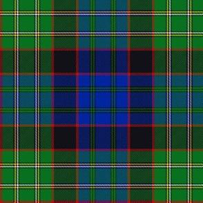 "Cunningham / MacNicol / Nicolson hunting tartan, 6"" small red"