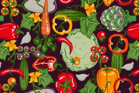 funny farm fabric by torysevas on Spoonflower - custom fabric