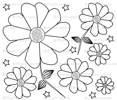 abstract_flowers_coloring_book