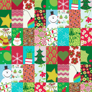 Christmas Medley Patchwork