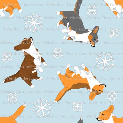 Tiny Cardigans - winter snowflakes