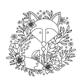 Fox & Floral