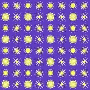 Stars on a blue field