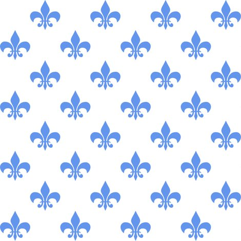Rrcornflower_blue_fleur-de-lis_white_shop_preview