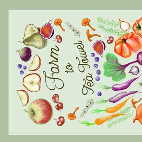 Fall Veggie market