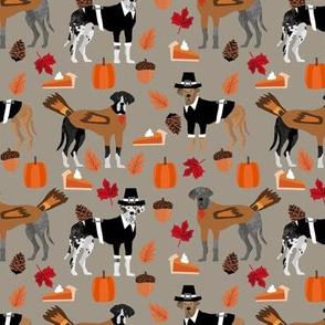 Great Dane thanksgiving fabric dog breeds pets dark natural