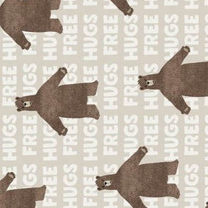 free hugs bear - beige (90)