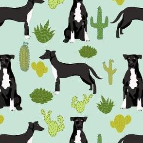 Dog cactus fabric.