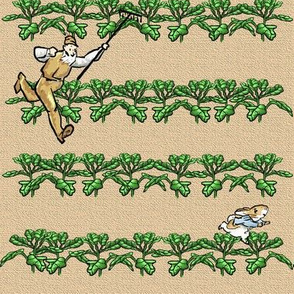 Farmer McGregor's Garden - Modern-style Lettuce Patch Chase - Medium Scale