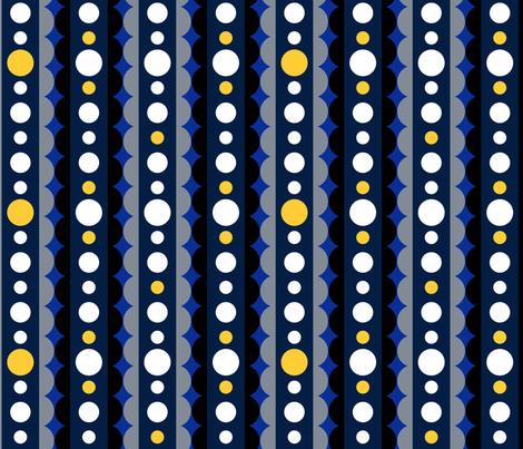 Winter_Mod_Ribbons fabric by pukka_creative_workshop on Spoonflower - custom fabric