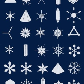 The Geometry of Snowflakes (large)