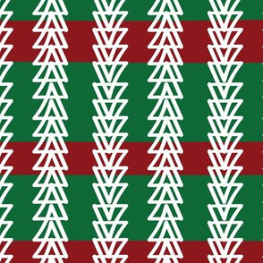 Geese Fly Over: Red Green - Christmas trees