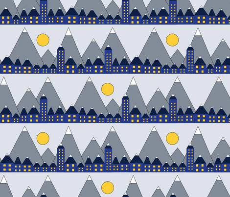 Design_Challange_Winter_Mod-01 fabric by colorpride_studio_by_sandra_hutter on Spoonflower - custom fabric