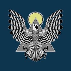 The Falcon God (color)