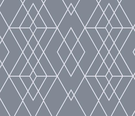 Mod Grid fabric by kimsa on Spoonflower - custom fabric