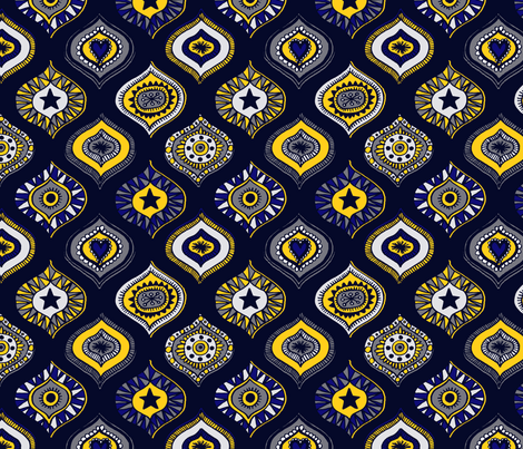 Indigogee fabric by seesawboomerang on Spoonflower - custom fabric