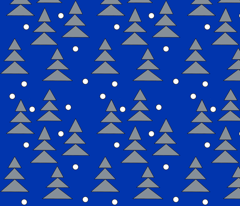winter fabric by quest on Spoonflower - custom fabric