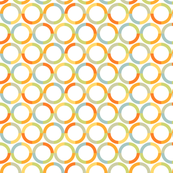Colorful pattern of circles