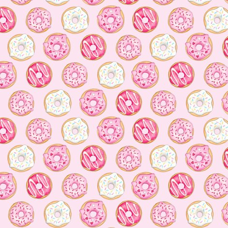 Riced_donuts_pink_on_light_pink_5_inch_150_hazel_fisher_creations_shop_preview