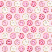 Riced_donuts_pink_on_light_pink_5_inch_150_hazel_fisher_creations_shop_thumb