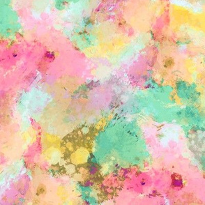 Watercolour Abstract Paint & Splatters