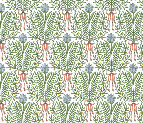 Spring bouquet fabric by andie_hanna on Spoonflower - custom fabric