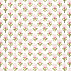 Strawberry Fields Linear Buds - Spoonflower