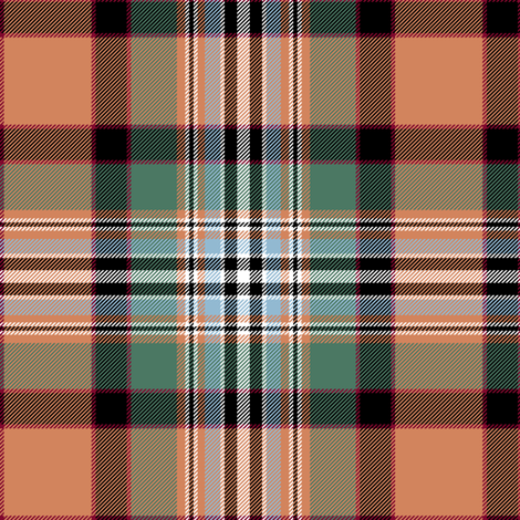"Dundee tartan, 6"" weathered fabric by weavingmajor on Spoonflower - custom fabric"
