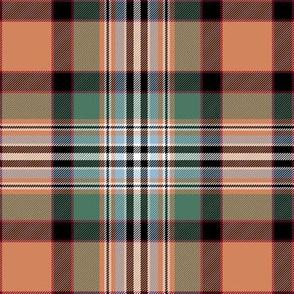 "Dundee tartan, 6"" weathered"