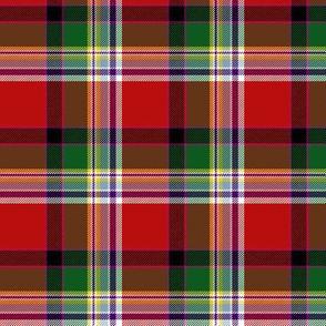 "Dundee asymmetrical tartan, 3"""