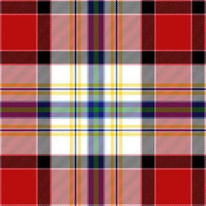 Dundee dress tartan, 6""