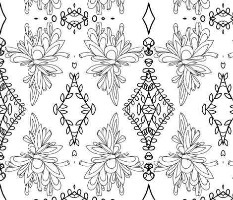 Drops of Beauty fabric by bent_line_designs on Spoonflower - custom fabric