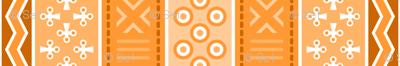 06899043 : mudcloth : orange peach ginger